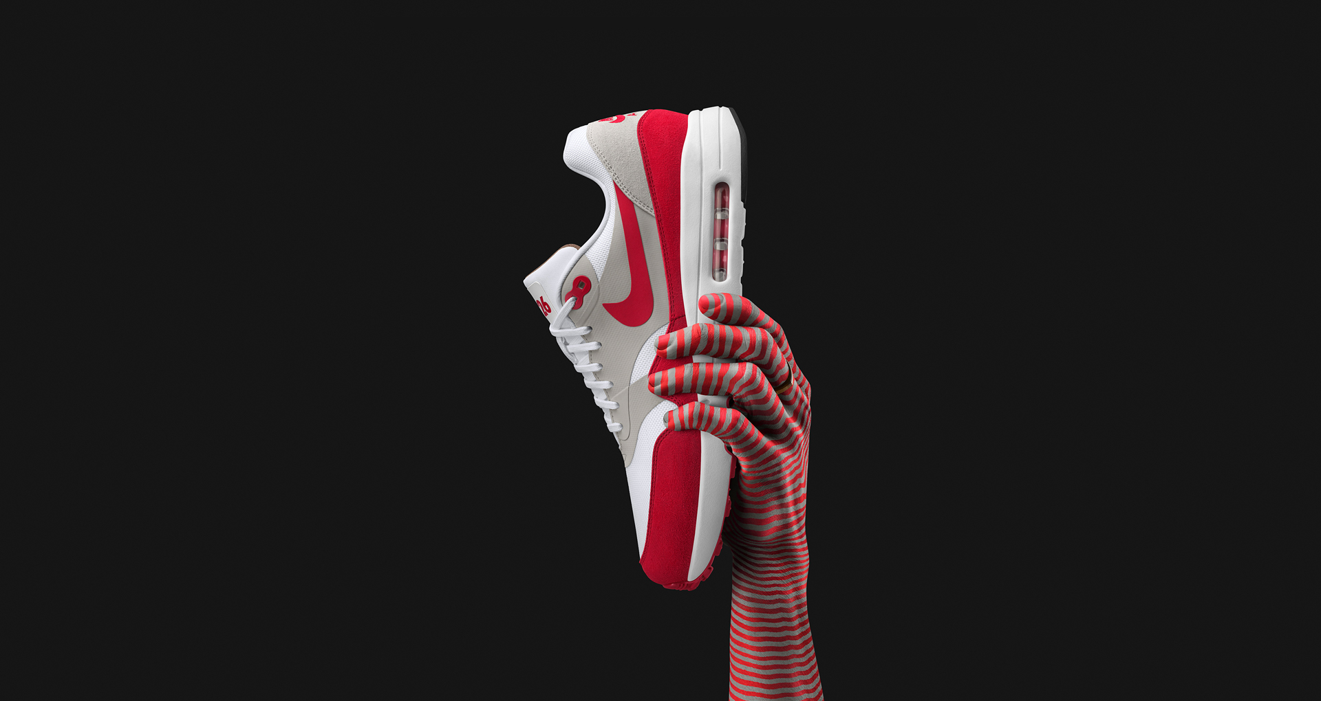 Nike Air Max 1 Ultra 2.0 Flyknit (University Red & Black) End